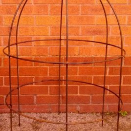 Lobster pot growing frame