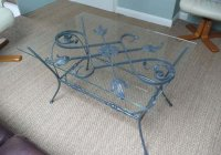 Coffee table Leaf and Scroll