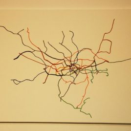 London geographical tube map 2013